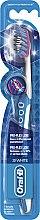 Parfüm, Parfüméria, kozmetikum Fogkefe, kék - Oral-B Proflex 3D White Luxe 38 Medium
