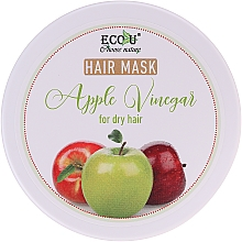 "Parfüm, Parfüméria, kozmetikum Maszk száraz hajra ""Almaecet"" - ECO U Apple Vinegar Hair Mask For Dry Hair"