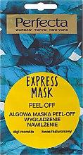 Parfüm, Parfüméria, kozmetikum Lehúzható arcmaszk algákkal - Perfecta Express Mask