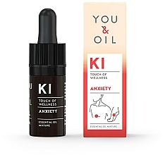 Parfüm, Parfüméria, kozmetikum Illóolaj keverékek - You & Oil KI-Anxiety Exhaustion Touch Of Welness Essential Oil