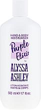 Parfüm, Parfüméria, kozmetikum Testápoló - Alyssa Ashley Purple Elixir