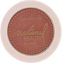 Parfüm, Parfüméria, kozmetikum Kompakt arcpirosító - Lovely Natural Beauty Blusher