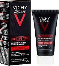 Parfüm, Parfüméria, kozmetikum Fluid arcra - Vichy Homme Structure Force Complete Anti-ageing Hydrating Moisturiser