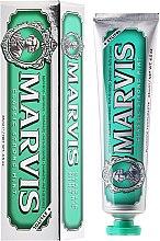 Parfüm, Parfüméria, kozmetikum Fogkrém xilitolal - Marvis Classic Strong Mint + Xylitol