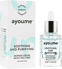 Parfüm, Parfüméria, kozmetikum Nyugtató arcszérum - Ayoume Tea Tree Soothing & Purifying Serum