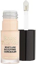 Parfüm, Parfüméria, kozmetikum Korrektor arcra - Too Faced Born This Way Multi-Use Sculpting Concealer (mini)