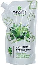 """Parfüm, Parfüméria, kozmetikum Folyékony krémszappan """"Aloe vera és glicerin"""" - Apart Natural Aloe Vera Water & Glycerin Soap (utántöltő)"""
