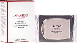 Parfüm, Parfüméria, kozmetikum Frissítő hatású tisztító törlőkendő - Shiseido Refreshing Cleansing Sheets