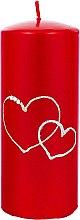 Parfüm, Parfüméria, kozmetikum Díszgyertya, piros, 7x17 cm - Artman Forever