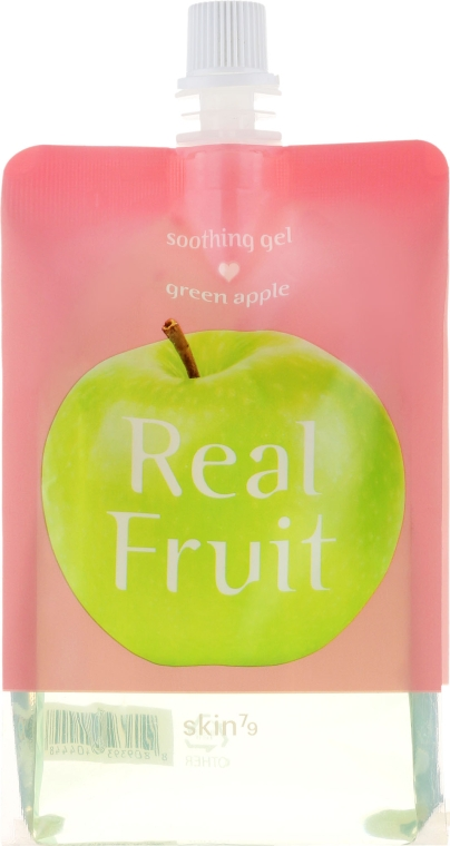 Tápláló gél - Skin79 Real Fruit Soothing Gel Green Apple