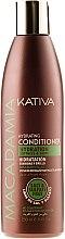 Parfüm, Parfüméria, kozmetikum Hidratáló hajkondicionáló normál típusú és sérült hajra - Kativa Macadamia Hydrating Conditioner