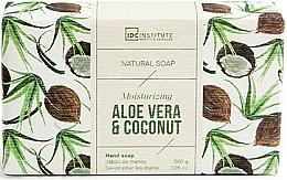 Parfüm, Parfüméria, kozmetikum Szappan - IDC Institute Moisturizing Hand Natural Soap Aloe Vera & Coconut