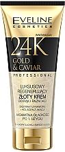 Parfüm, Parfüméria, kozmetikum Regeneráló kéz- és körömápoló krém - Eveline Cosmetics 24K Gold & Caviar