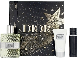 Parfüm, Parfüméria, kozmetikum Dior Eau Sauvage - Szett (edt/100ml + sh/gel/50ml + edt/mini/10ml)