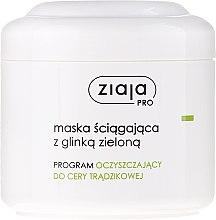Parfüm, Parfüméria, kozmetikum Arcmaszk zöld agyaggal - Ziaja Pro Mask With Green Clay