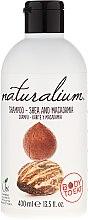 """Parfüm, Parfüméria, kozmetikum Sampon és kondicionáló """"Shea olaj és makadamia"""" - Naturalium Shea & Macadamia Shampoo"""