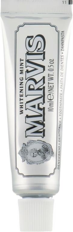 """Fehérítő fogkrém """"Menta"""" - Marvis Whitening Mint Toothpaste (mini)"""