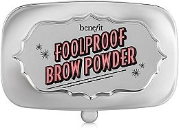 Parfüm, Parfüméria, kozmetikum Szemöldök púder - Benefit Foolproof Brow Powder