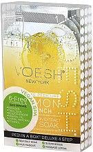 """Parfüm, Parfüméria, kozmetikum Pedikűr készlet """"Citrom"""" - Voesh Pedi In A Box Deluxe Pedicure Lemon Quench"""