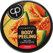 Parfüm, Parfüméria, kozmetikum Feszesítő bőrradír lédús dinnye illattal - Cosmepick Body Peeling Melon Cantaloupe