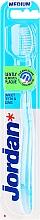 Parfüm, Parfüméria, kozmetikum Fogkefe Target, közepesen lágy, kék - Jordan Target Teeth & Gums Medium