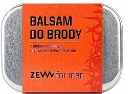 Parfüm, Parfüméria, kozmetikum Szakállbalzsam kender olajjal - Zew Beard Balm