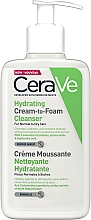 Parfüm, Parfüméria, kozmetikum Hidratáló krém-hab mosakodáshoz - CeraVe Hydrating Cream To Foam Cleanser For Normal To Dry Skin