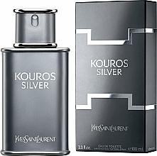 Parfüm, Parfüméria, kozmetikum Yves Saint Laurent Kouros Silver - Eau De Toilette