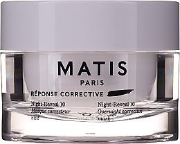 Parfüm, Parfüméria, kozmetikum Intenzív hidratáló gélmaszk arcra - Matis Reponse Corrective Night Reveal 10 Overnight Corrective Mask