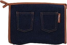 """Parfüm, Parfüméria, kozmetikum Neszeszer """"Real Jeans. Denim"""", 94552, kék - Top Choice"""