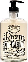 "Parfüm, Parfüméria, kozmetikum Marseille folyékony szappan ""Levendula"", üvegben - Panier des Sens Liquid Marseille Soap"