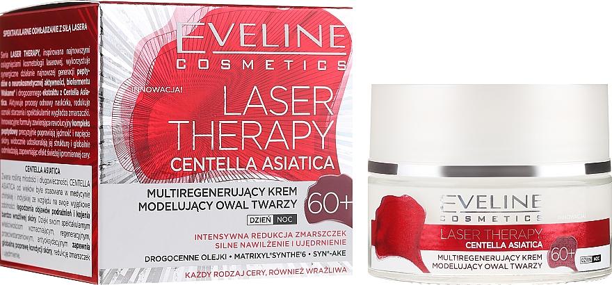 Arckrém 60+ - Eveline Cosmetics Laser Therapy Centella Asiatica 60+
