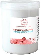 """Parfüm, Parfüméria, kozmetikum Masszázs krém """"Frangipani és jázmin"""" - Yamuna Massage Cream"""