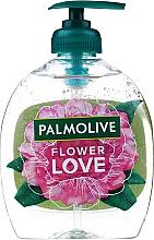 """Parfüm, Parfüméria, kozmetikum Folyékony szappan """"Szerelem virága"""", rózsaszín - Palmolive Flower Love Liquid Soap"""