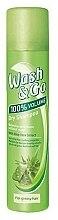 Parfüm, Parfüméria, kozmetikum Száraz sampon zsíros hajra aloe kivonattal - Wash&Go