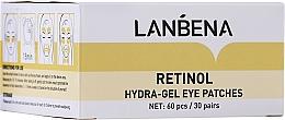 Parfüm, Parfüméria, kozmetikum Fiatalító hidrogél szemtapasz retinollal és kollagénnel - Lanbena Retinol Collagen Hydra-Gel Eye Patch