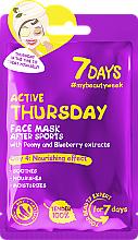 """Parfüm, Parfüméria, kozmetikum Arcmaszk """"Aktív csütörtök"""" - 7 Days Active Thursday"""