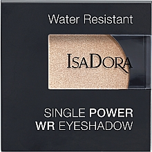Parfüm, Parfüméria, kozmetikum Szemhéjfesték - IsaDora Single Power WR Eyeshadow