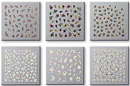 Parfüm, Parfüméria, kozmetikum Körömmatrica szett 42737 - Top Choice Nail Decorations Stickers Set