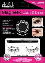 Parfüm, Parfüméria, kozmetikum Készlet - Magnetic Lash & Liner 110 Lash Kit (eye/liner/2g + lashes/2pc)