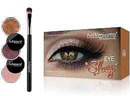 Parfüm, Parfüméria, kozmetikum Szemsmink szett - Bellapierre Eye Slay Kit Romantic Brown