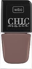 Parfüm, Parfüméria, kozmetikum Matt körömlakk - Wibo Chic Matte