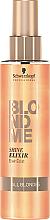 Parfüm, Parfüméria, kozmetikum Shine elixír szőke hajra - Schwarzkopf Professional Blondme Shine Elixir