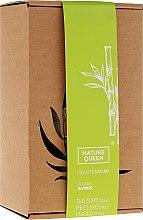"""Parfüm, Parfüméria, kozmetikum Készlet """"Bambusz"""" - Nature Queen(peel/250g+b/butter/150ml+b/lotion/200ml)"""