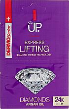Parfüm, Parfüméria, kozmetikum 24K Gold & Diamonds Express Lifting arcpakolás - Verona Laboratories DermoSerier Skin Up Express Lifting Diamonds 24k Gold