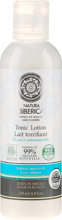 """Arctisztító lotion """"Hidratáló és kiegyensúlyozó"""" - Natura Siberica Tonic Lotion — fotó N1"""