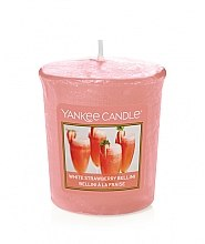 "Parfüm, Parfüméria, kozmetikum Illatgyertya ""White Strawberry Bellini"" - Yankee Candle White Strawberry Bellini"