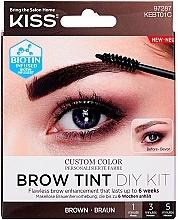 Parfüm, Parfüméria, kozmetikum Szemöldök tint - Kiss Brow Tint DIY Kit
