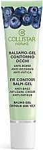 Parfüm, Parfüméria, kozmetikum Szemkörnyékápoló gél - Collistar Natura Eye Contour Balm-Gel