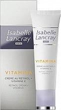 Parfüm, Parfüméria, kozmetikum Krém retinollal és E vitaminnal - Isabelle Lancray Retinol Cream Vitamin E